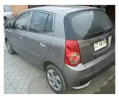 Vendo auto KIA MORNING en perfecto estado ÚNICO DUEÑO MANTENCIONES AL DÍA