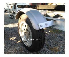 Carro Arrastre de Aluminio, Lancha