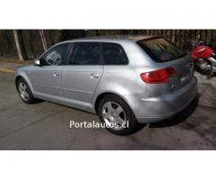 Audi a3 año 2007 1.6 sportback