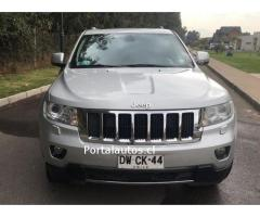 Jeep Grand Cherokee Limited año 2012 4x4