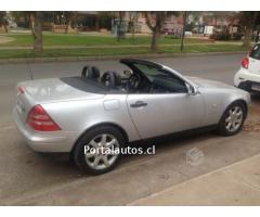 Mercedes benz slk 230 año 1999,convertible