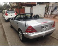 Mercedes benz slk 230 año 1999,convertible
