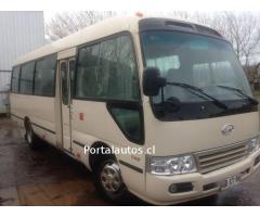 Se Vende Bus Jac año 2014