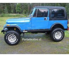 Jeep CJ7 1986 en perfecto estado
