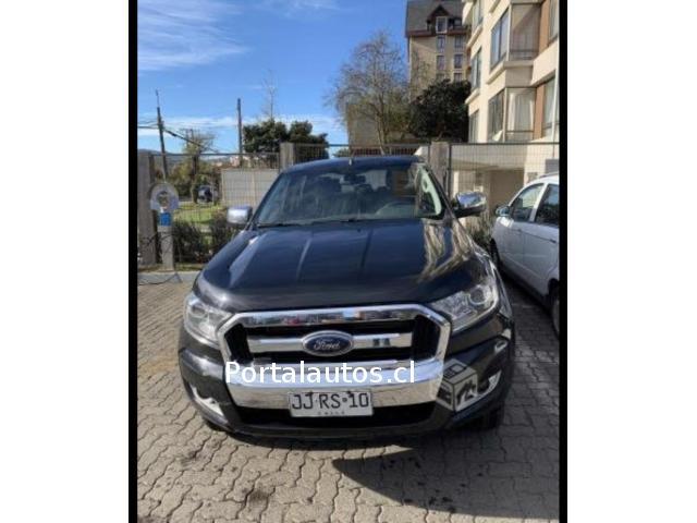 Vendo camioneta Ford Ranger 2017