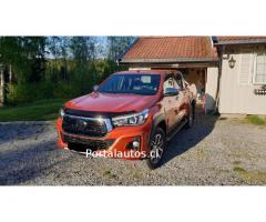 Toyota HiLux, 4X4,año 2018, Automático, Diesel, 19.301 km